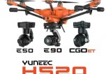 YUNEEC H520 - MULTI CAMERA BUNDLE (E50, E90, CGOET) commercial UAV