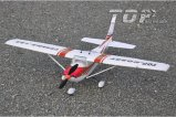 Top RC Hobby AIRPLANE 400 Class Cessna 182 (red) PNP