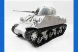 Mato 1:16 Complete Metal M4A3(75)W Sherman Tank (BB / Recoil, Original Metal Color,without radio control system)