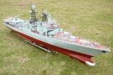 "1/100 RC Model boat Russia, ""brave-I"" guided missile destroyer/Simulation of an aircraft carrier/Electric remote control boat"