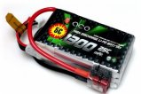 ACE 7.4V/2S 1300 mAh 25C LiPO battery