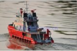 1/40 RC Model boat H.K Elite Fire Radio Control Boat / Simulation of fire fighting / Electric remote control boat