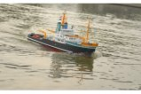 1/70 RC Model boat Houston tugboat / Simulation of scale tug / Electric remote control boat