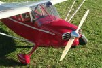 GREEN RC (Pilot-1) 108 INCH STINSON VOYAGER 108 combo w/DLE55cc Engine (AUS Warehouse)