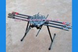 HMF865 6-axis Carbon Fiber Folding Hexacopter Frame Kit