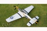 Top RC Hobby AIRPLANE P-51D Mustang Yellow PNP