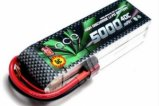 ACE 11.1V/3S 5000 mAh 40C LiPO battery