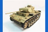 Mato 1:16 Complete 100% Metal Panzer III Tank (BB / Recoil , Hand Painted:Desert Yellow,without radio control system)