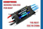 Seaking-120A Water-cooling Brushless ESC for Boat V2