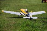 "110"" AMP Cessna188 wing fairings yellow 2 sides/set"