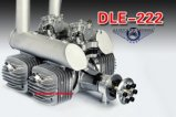 DLE 222 cc Petrol Engine V3 (AUS Warehouse)