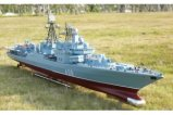 "1/100 RC Model boat Russia, ""brave-II"" guided missile destroyer/Simulation of an aircraft carrier/Electric remote control boat"