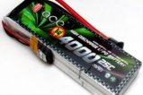 ACE 11.1V/3S 4000 mAh 25C LiPO battery