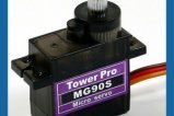 TowerPro 13.4g/ 2.2kg / .08 sec Metal Gear Micro Servo MG90S (Economic Version)