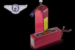 AGA Power 4200mAh 5S1P 50C 18.5v Li-Po Battery for 3D Heli Master Level GST Inc (AUS Warehouse)