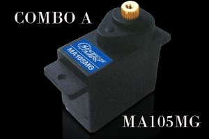 Flite-Torque  Analog MA105 MG Mini Servo (Global Warehouse)