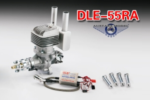 DLE 55 RA engine (Global Warehouse)