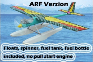 GREEN RC Rocky -18 ARF Version with Floats  (no engine) Super Special! (AUS Warehouse)
