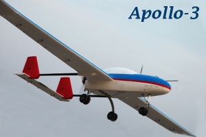 237 INCH APOLLO-3 UAV (CONTACT US FOR PRICING) (Global Warehouse)