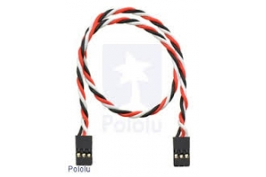 AUSTARS 15cm 22 AWG Futaba Servo Extension Lead  Twisted (Global Warehouse)