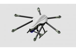 SKY-HERO SPYDER 1000 HEXACOPTE KIT FOR 5D MARK CAMERA & GIMBAL (Global Warehouse)