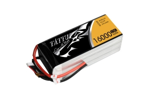 Tattu 16000mAh 15C 6S1P Lipo Battery Pack (Global Warehouse)