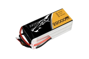 Tattu 22000mAh 22.2V 25C 6S1P Lipo Battery Pack (Global Warehouse)
