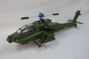 AS550 Eurocopter Scale Frame for TREX 600 (ESP) or Thunder Tiger 50SE(army green)