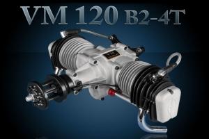 Valach Motor VM 120 B2-4T  120 cc Petrol/Gas Engine (Global Warehouse)