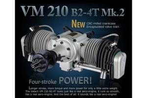 Valach Motor VM 210B2-4T 210cc Petrol/Gas Engine (Global Warehouse)