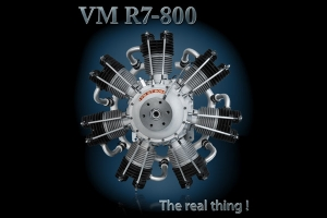 Valach Motor VM 800R7 800cc Petrol/Gas Engine (Global Warehouse)