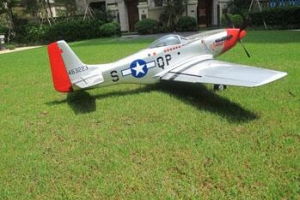 FLYHOBBY  P-51 Mustang Red Tail  KIT (Global Warehouse)