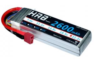 HRB 22.2V/6S1P 2600mAh 30C LiPo battery (Global Warehouse)