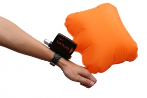 Waterproof unmanned aerial vehicle on the survival bracelet