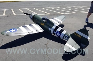 CYModel 96 inch P47B Razorback w/electric retracts GST Inc New stock for Pre order only (AUS Warehouse)