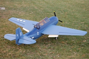 "81"" CYM TBF Avenger Scale Warbird for 26-35cc Engine w/retracts GST Inc"