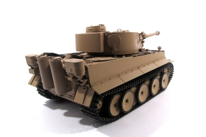 Mato 1:16 Complete 100% Metal Tiger 1 Tank (BB / Recoil , Hand Painted:Desert Yellow,RTR)