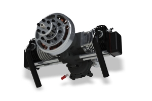 ROTO 85cc FS AL UAV engine with auto starter/generator (Contact us for pricing) (Global Warehouse)
