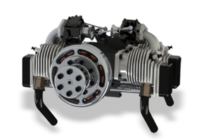 ROTO 170cc FS AL UAV Engine with auto starter/generator (Contact us for pricing) (Global Warehouse)