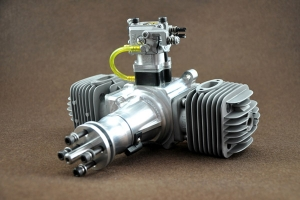 DLA 64 cc TWIN Gas Engine
