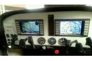 Digital Dashboard for 157 inch Cessna 182/185 (Global Warehouse)