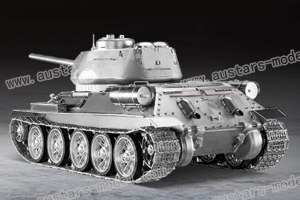 Warslug Russian Metal Tank T34/85 Aluminum-alloyTracks StaticVersion