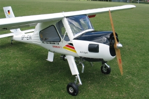 "118"" Wilga PZL-104 50-100cc Tow Plane White/black (for Pre-order customers from USA) (USA Warehouse)"