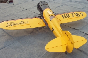 "27% scale 97"" Scale Gee Bee Y Senior Sportster 2 Schemes for 50cc Engine GST Inc For Pre order Customers from Australia (AUS Warehouse)"