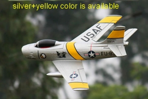 Freewing F-86 Crusader 64mm EDF Jet PNP Version With Battery
