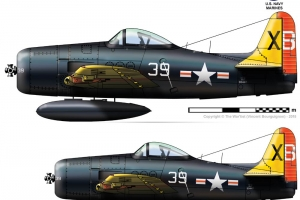 "CYModel 96"" F8F Bearcat 1D w/electric retracts GST Inc Pre order (AUS Warehouse)"
