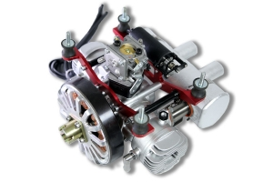 DLE 70cc HD UAV Drone engine Water cooled engine With Petrol/Electricity Converter & Starter