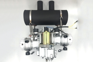 DLE 200cc HD Gasoline Water-cooled twin-cylinder UAV DRONE engine
