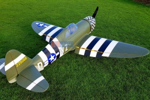 "CYModel 81"" P-47 Razorback w/electric retracts (2 color schemes)"