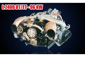 LIMBACH L-2400 DT/ETE 96KW UAV Complete Engine W/Autostarter/Alternator (All in one)